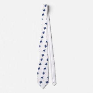 Cravates Matrice-Atome (noir, bleus)