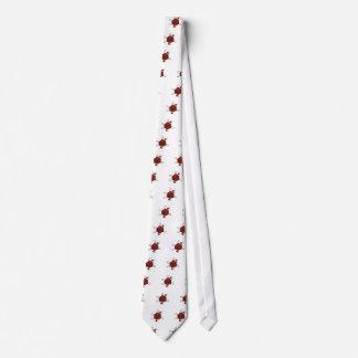 Cravates Matrice-Atome (noir, rouges)