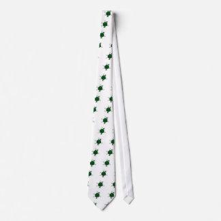 Cravates Matrice-Atome (noir, vert)