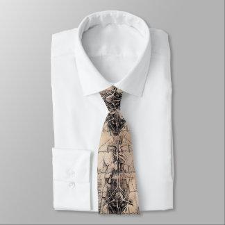 Cravates Médecins Art Anatomy par Leonardo da Vinci