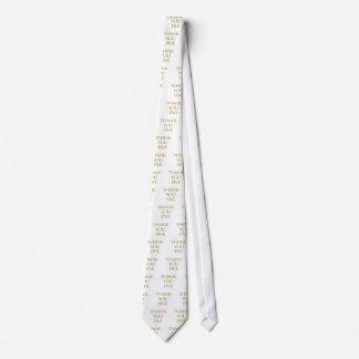 Cravates Merci cinq !