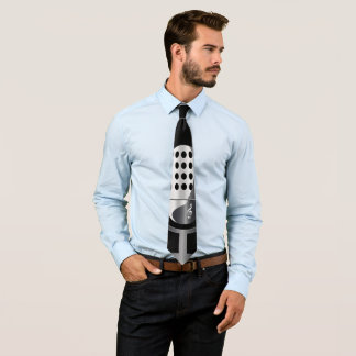 Cravates Microphone vintage