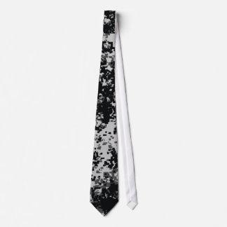 Cravates militaires noires et blanches de Digitals