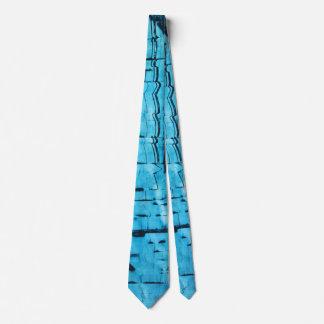 Cravates Miroir bleu