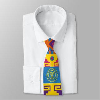 Cravates Motif aztèque d'abrégé sur Mexicain