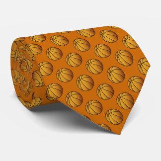 Cravates Motif de boule de basket-ball