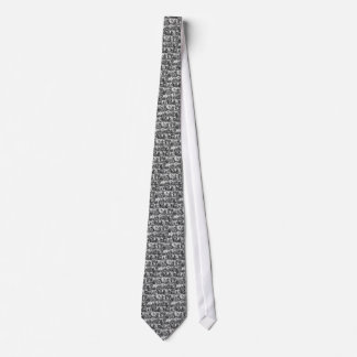 Cravates Motif de cartes de tarot