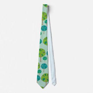Cravates Motif de forêt d'arbre