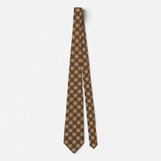 Cravates Noël blanc de vacances de Noël de flocons de neige