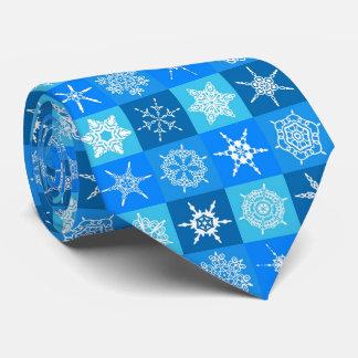 Cravates Noël et flocon de neige