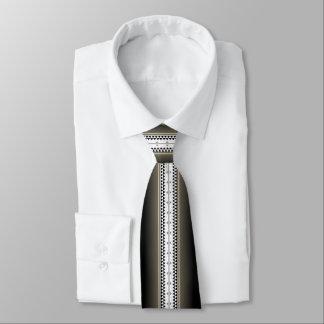 Cravates Noir de nation de papillon