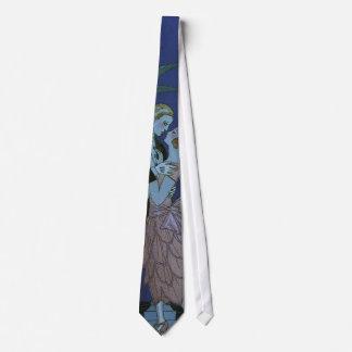 Cravates Nouveaux mariés vintages d'art déco, Oui par