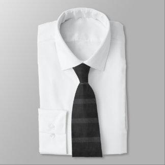 Cravates Nuances des rayures horizontales noires