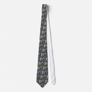 Cravates Nuit étoilée - deux Italien Spinones