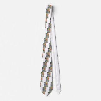 Cravates Oeils en couleur