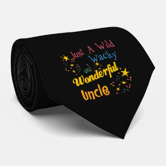 Cravates Oncle sauvage et farfelu