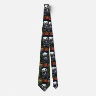 Cravates Panda de panda de panda.