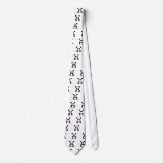 Cravates Panda mignon