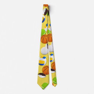 Cravates Partie de boules de sport de personnaliser