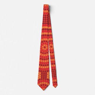 Cravates Peinture indigène de point