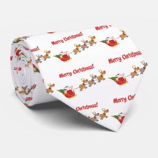 Cravates Père Noël dans son Sleigh