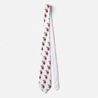 Cravates Petit vol peint à la main de héros