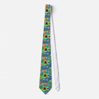 Cravates PIÈCE EN T dehors liée