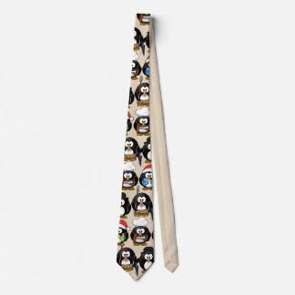 Cravates Pingouins mignons de personnaliser pour la partie
