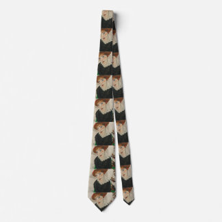 Cravates Portrait d'imbécile par Egon Schiele