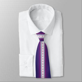 Cravates Pourpre de nation de papillon