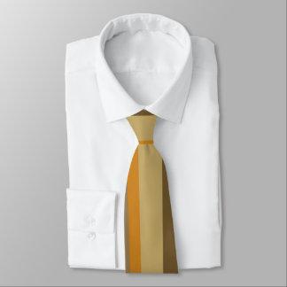 Cravates Rayures de café
