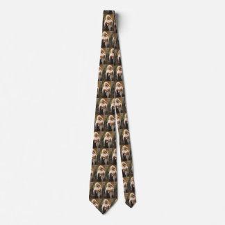 Cravates Réalisme vintage, Madonna des roses, Bouguereau