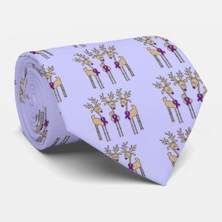 Cravates Renne pourpre de ruban (Crohn et colites)