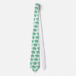 Cravates Respirez l'éléphant d'amour