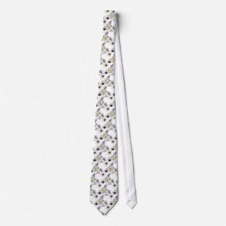 Cravates Ressort frais de fleur d'anémone florale de