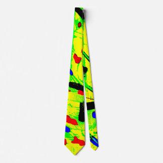 Cravates Résumé coloré