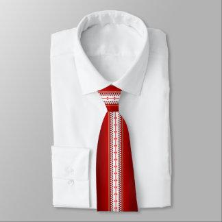 Cravates Rouge de nation de papillon