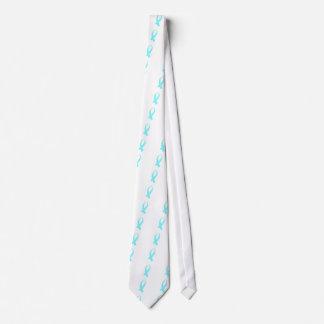 Cravates Ruban de conscience (bleu-clair)