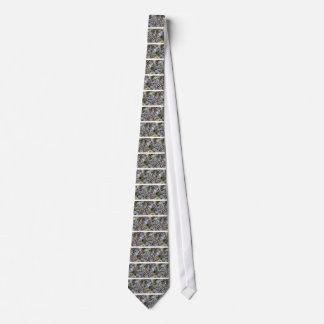 Cravates Sauterelle camouflée