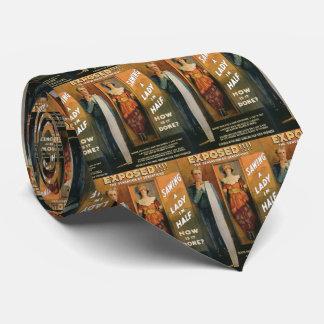 Cravates Sciant Madame In Half de ~ de Loi magique vintage