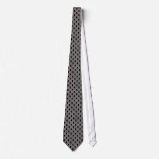 Cravates Silhouettes noires de carlin sur l'arrière - plan