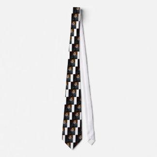 Cravates Sorcière sur le balai volant au-dessus de votre