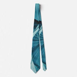 Cravates Spirale bleue