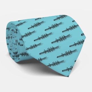 Cravates Sports aquatiques d'équipe d'équipage de rameurs