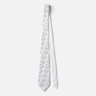 Cravates Style vintage gravure à l'eau-forte de fromage et