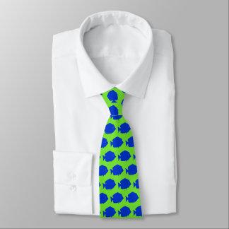 Cravates Tang bleu