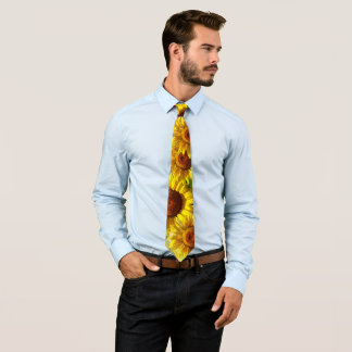 Cravates Tournesols