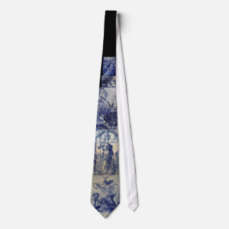Cravates Tuiles d'Azulejo de Portugais