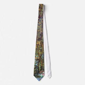 Cravates Vincent van Gogh - chemin en beaux-arts en bois