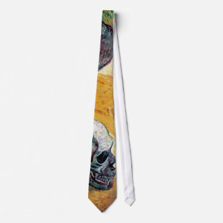 Cravates Vincent van Gogh - crâne dans le profil -